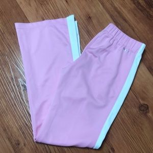 🆕NWOT BABY PINK NIKE FIT DRY TRACK PANTS